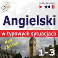 nauka języków obcych: Angielski w typowych sytuacjach. 1-3 - New Edition: A Month in Brighton + Holiday Travels + Business English: (47 tematów na poziomie B1-B2) - audiobook
